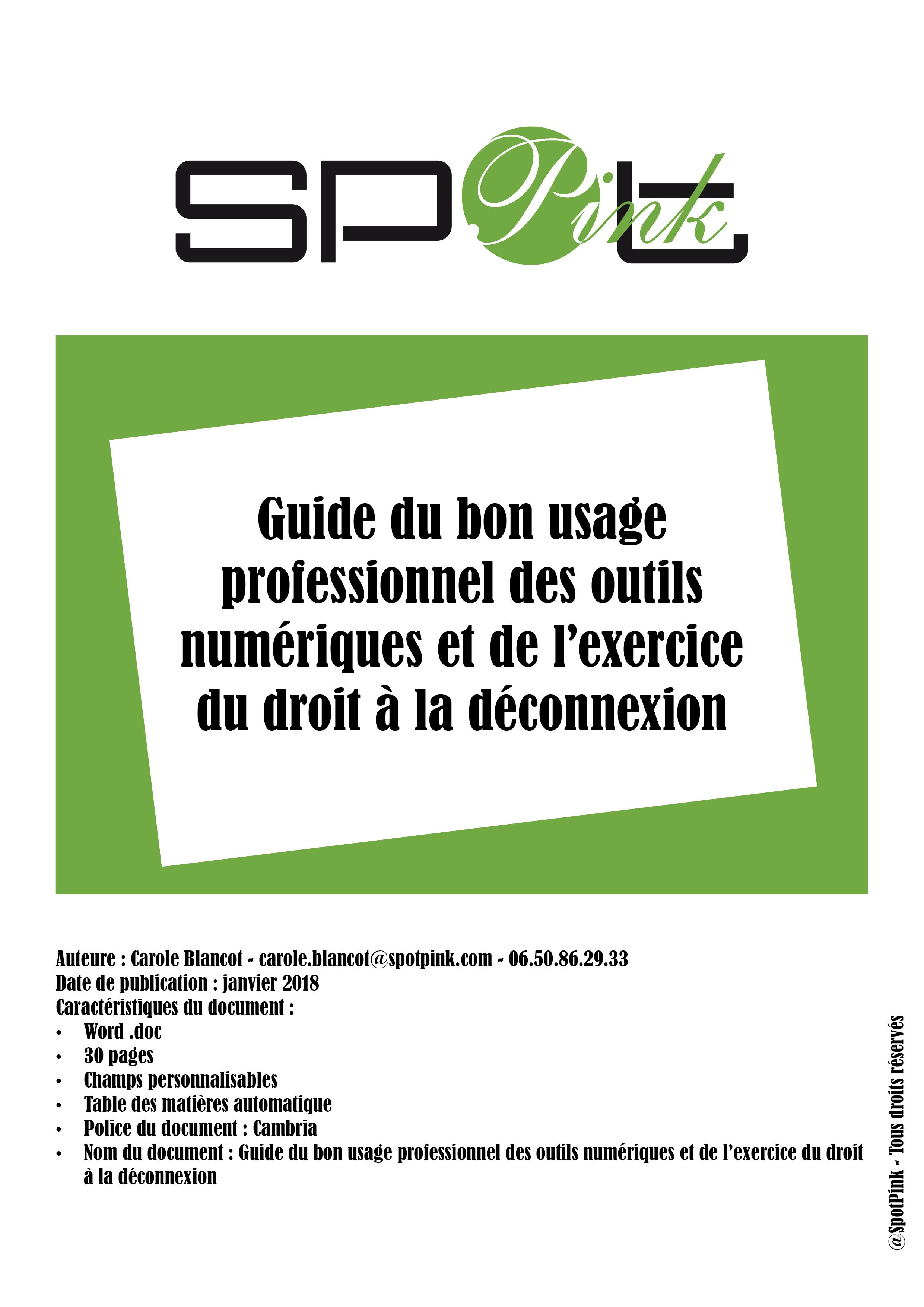 Couv Guide-Bons-usages-professionnels-outils-numeriques-de?connexion