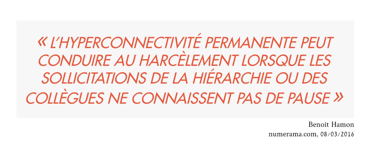 Les conséquences de l'hyperconnectivité selon Benoît Hamon