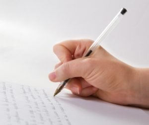 Écrire une lettre